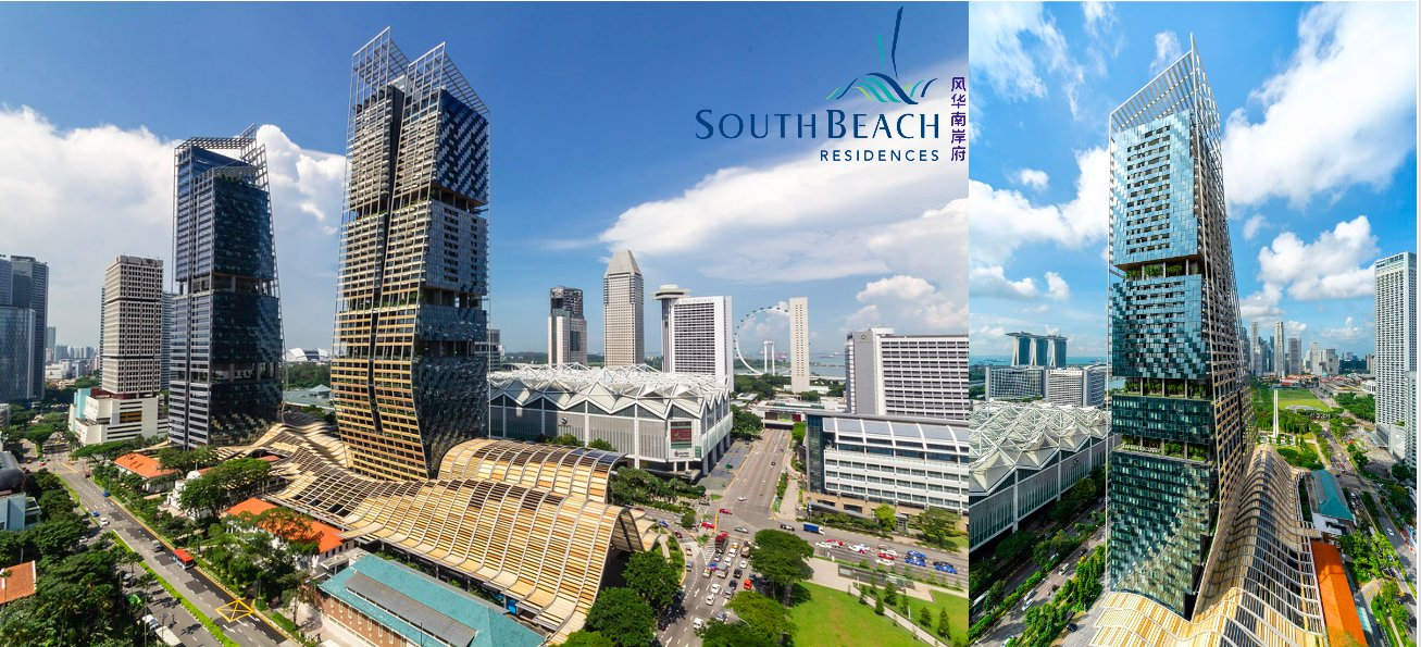 South Beach Residences 风华南岸府总揽