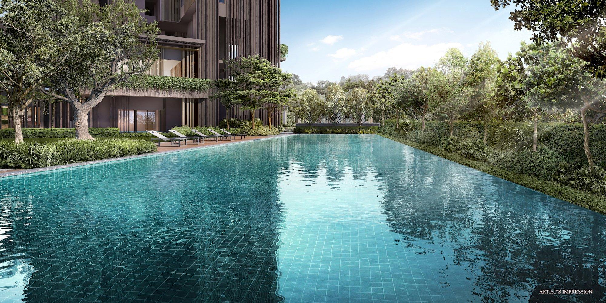 The Avenir 50m Lap Pool