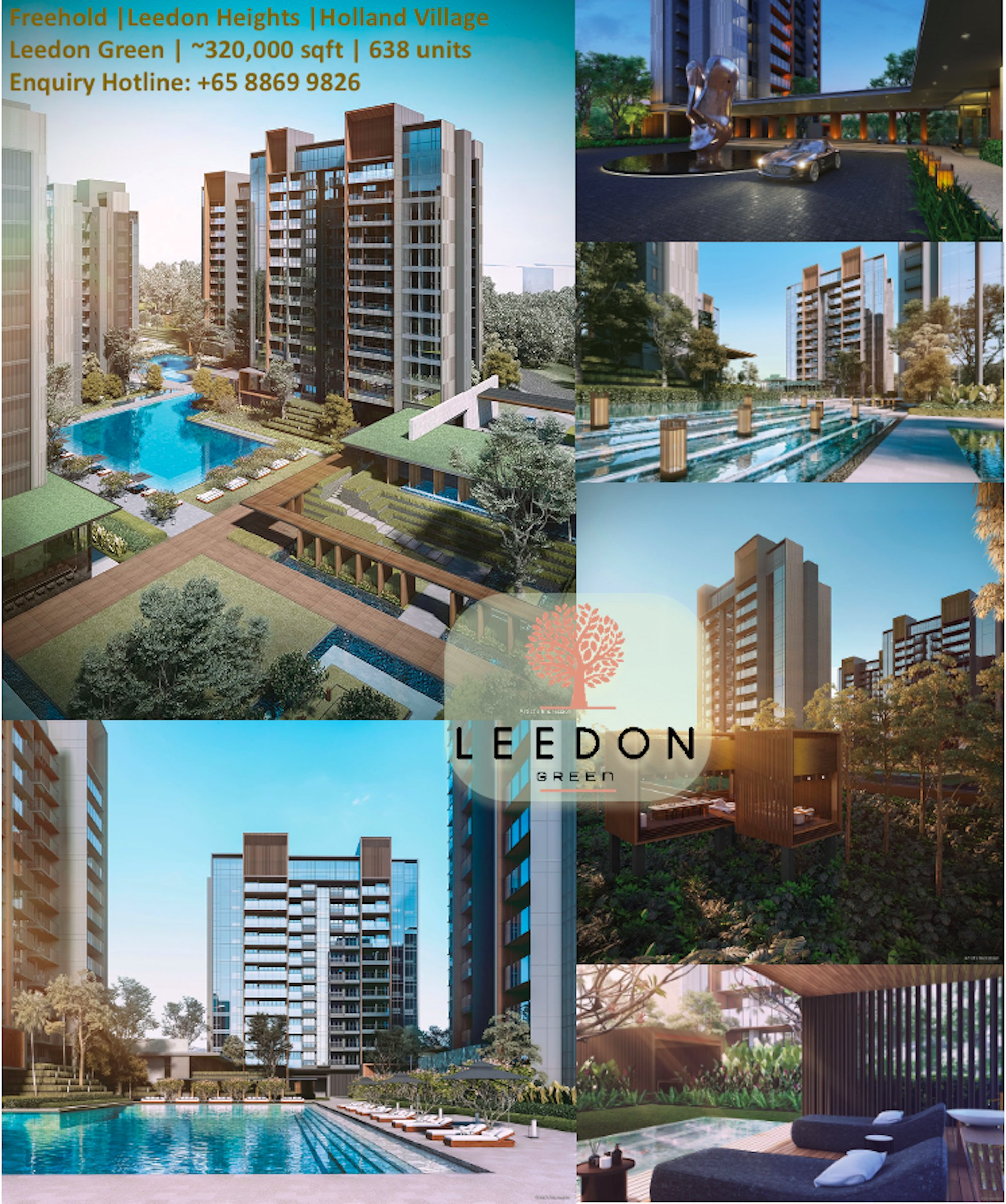 绿墩雅苑永久地契公寓 leedon green freehold overview