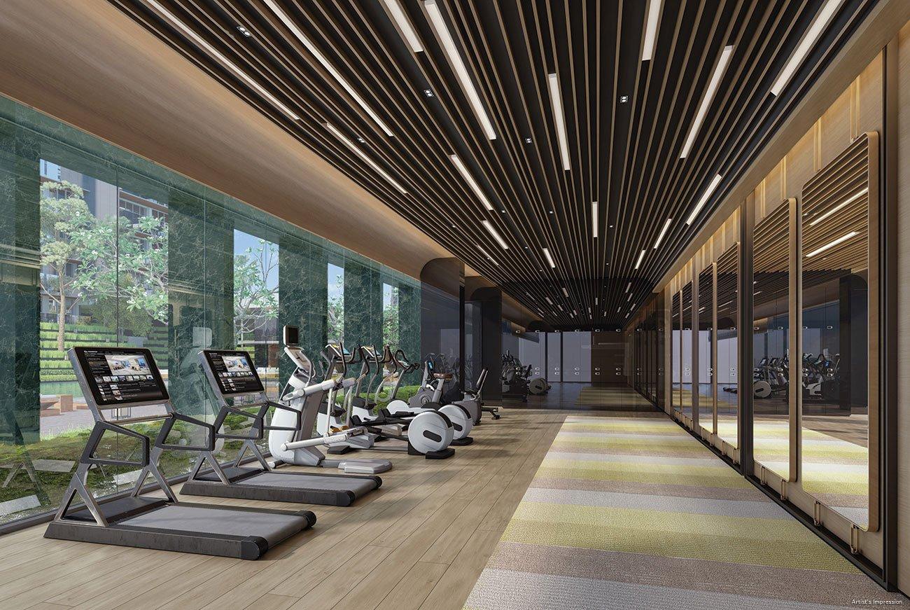 绿墩雅苑公寓 leedon green gym