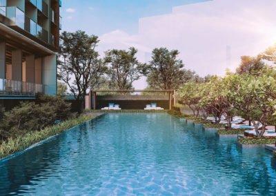 绿墩雅苑 leedon green lap pool