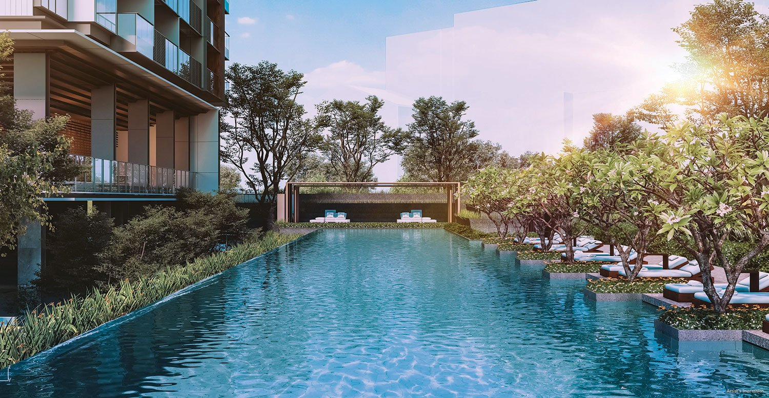 leedon green 50m lap pool