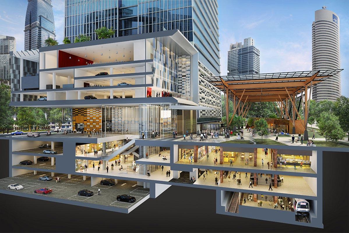 华利世家 wallich residence integrated with tanjong pagar centre