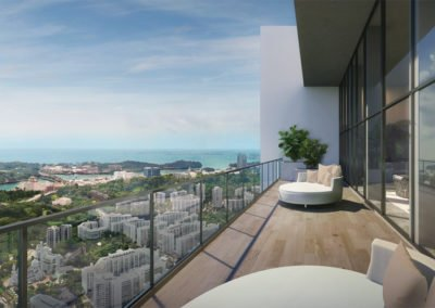 Avenue South Residence 南峰雅苑 sky function balcony view