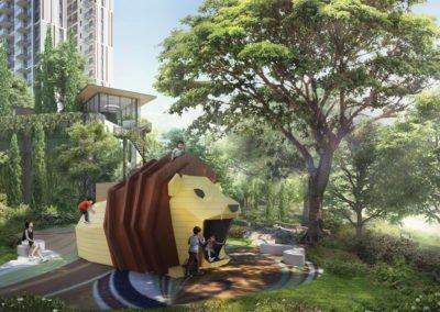 Avenue South Residence 南峰雅苑 child playground