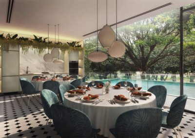 Avenue South Residence 南峰雅苑 function hall poolside