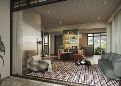 Avenue South Residence 南峰雅苑 heritage 3 bedroom living
