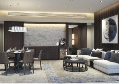 Avenue South Residence 南峰雅苑 horizon 4 bedroom living