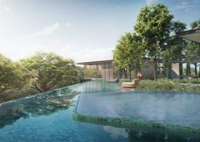 Avenue South Residence 南峰雅苑 infinity pool