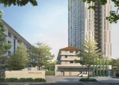 Avenue South Residence 南峰雅苑 main entrance