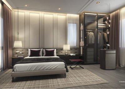 Avenue South Residence 南峰雅苑 peak 4 bedroom master room