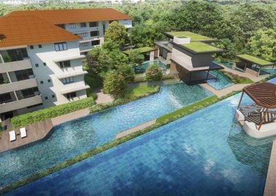 Avenue South Residence 南峰雅苑 pool terrains