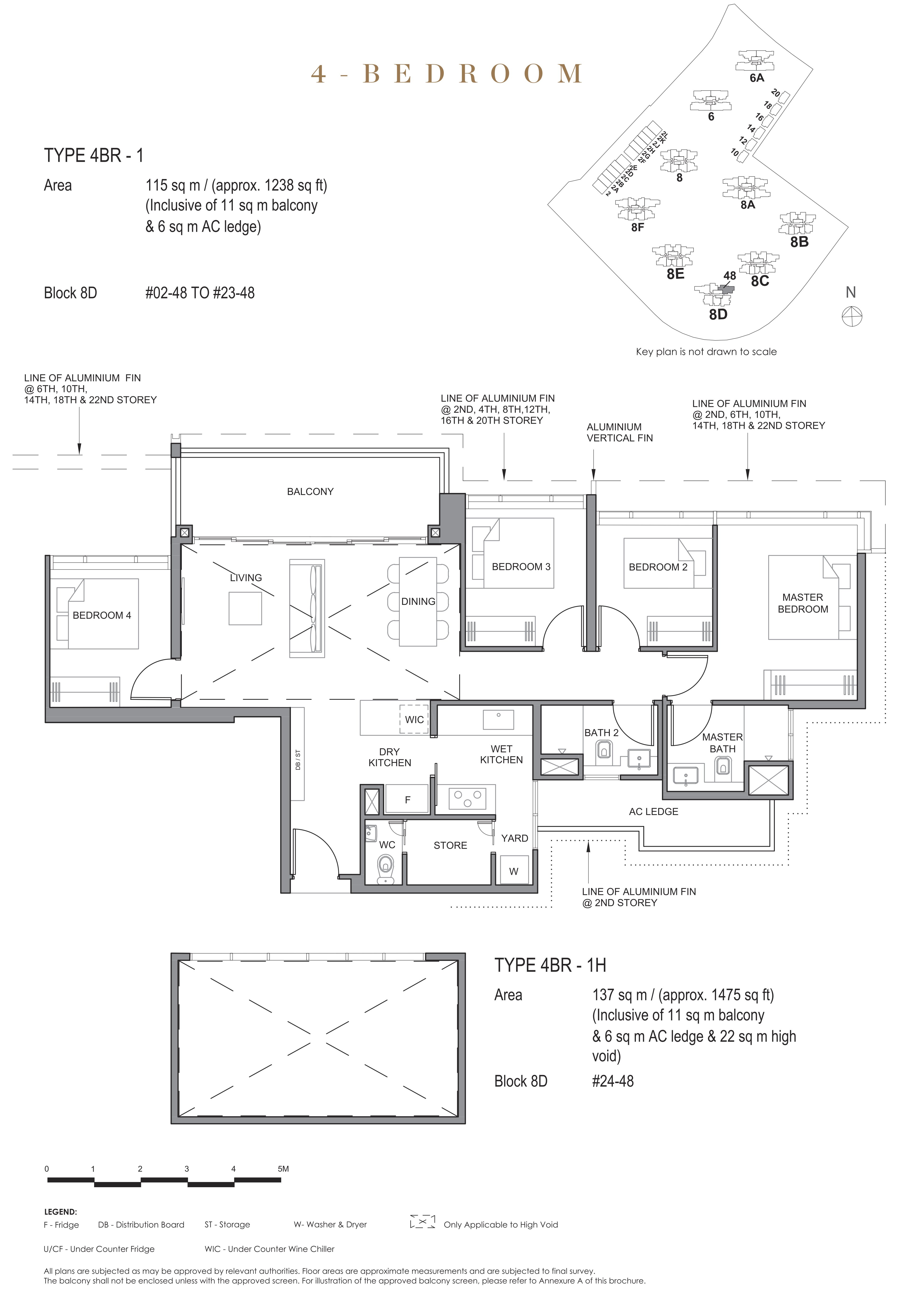 Parc Clematis 锦泰门第 contemporary 4 bedroom 4卧房 4 BR-1