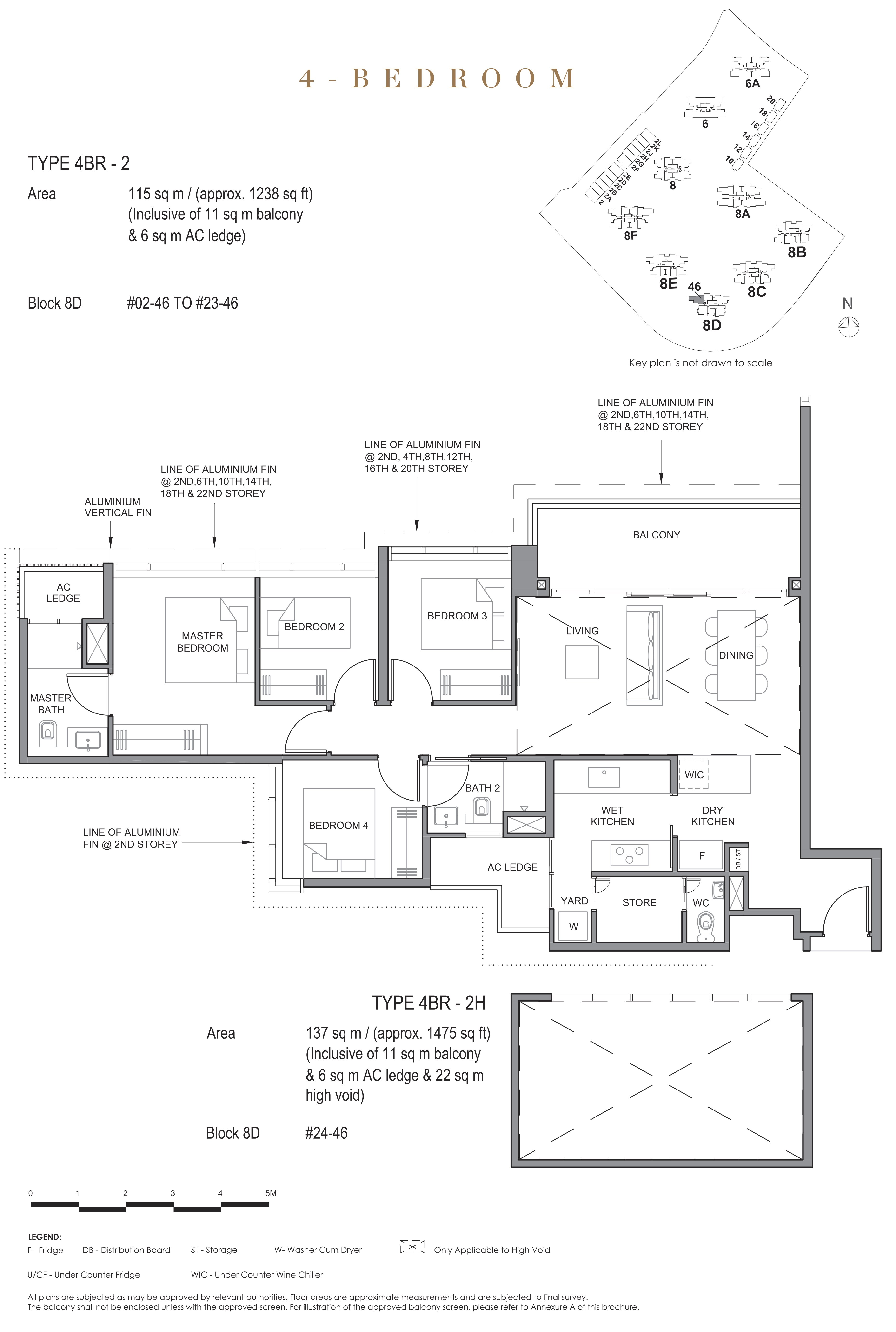 Parc Clematis 锦泰门第 contemporary 4 bedroom 4卧房 4 BR-2
