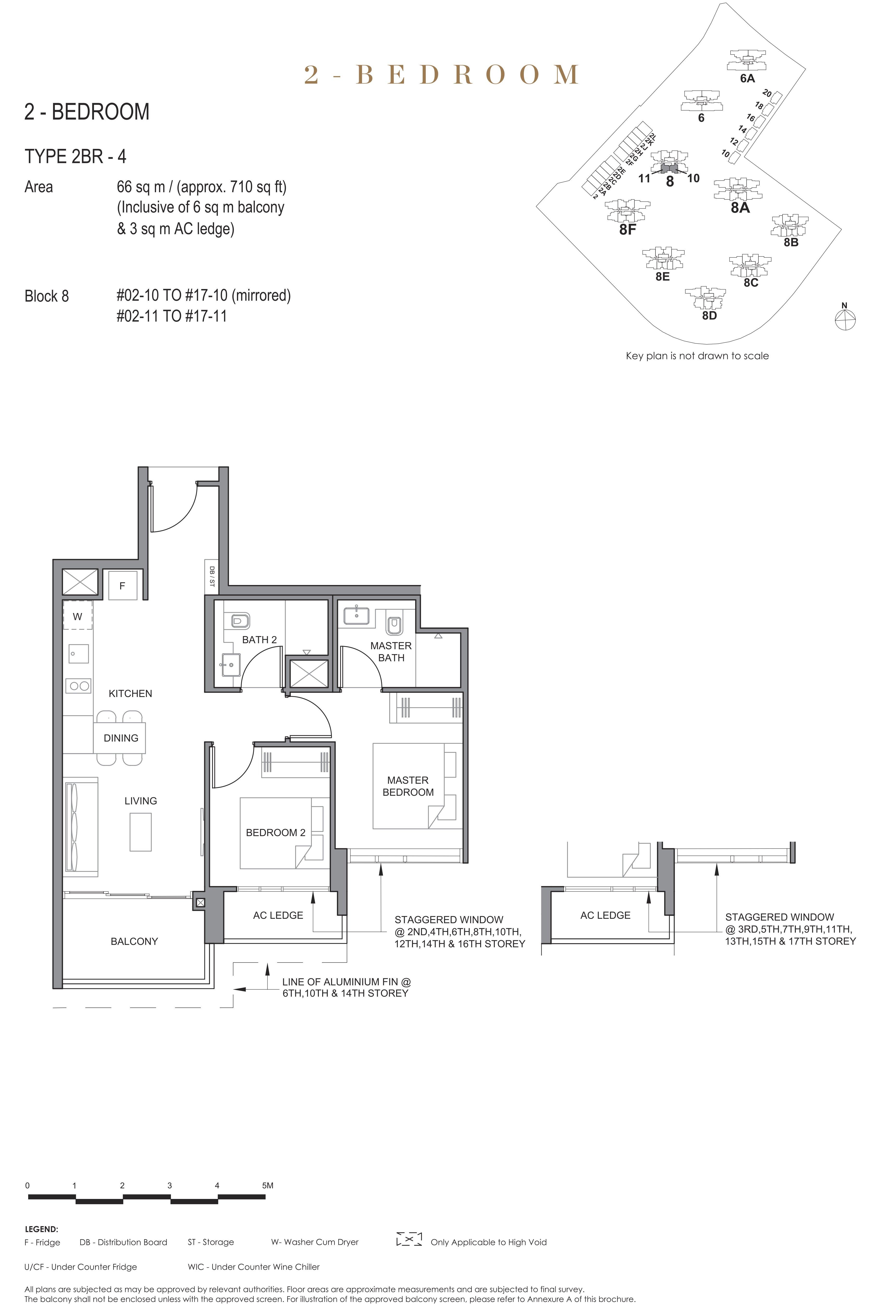 Parc Clematis 锦泰门第 elegance 2 bedroom 2卧房 2BR-4