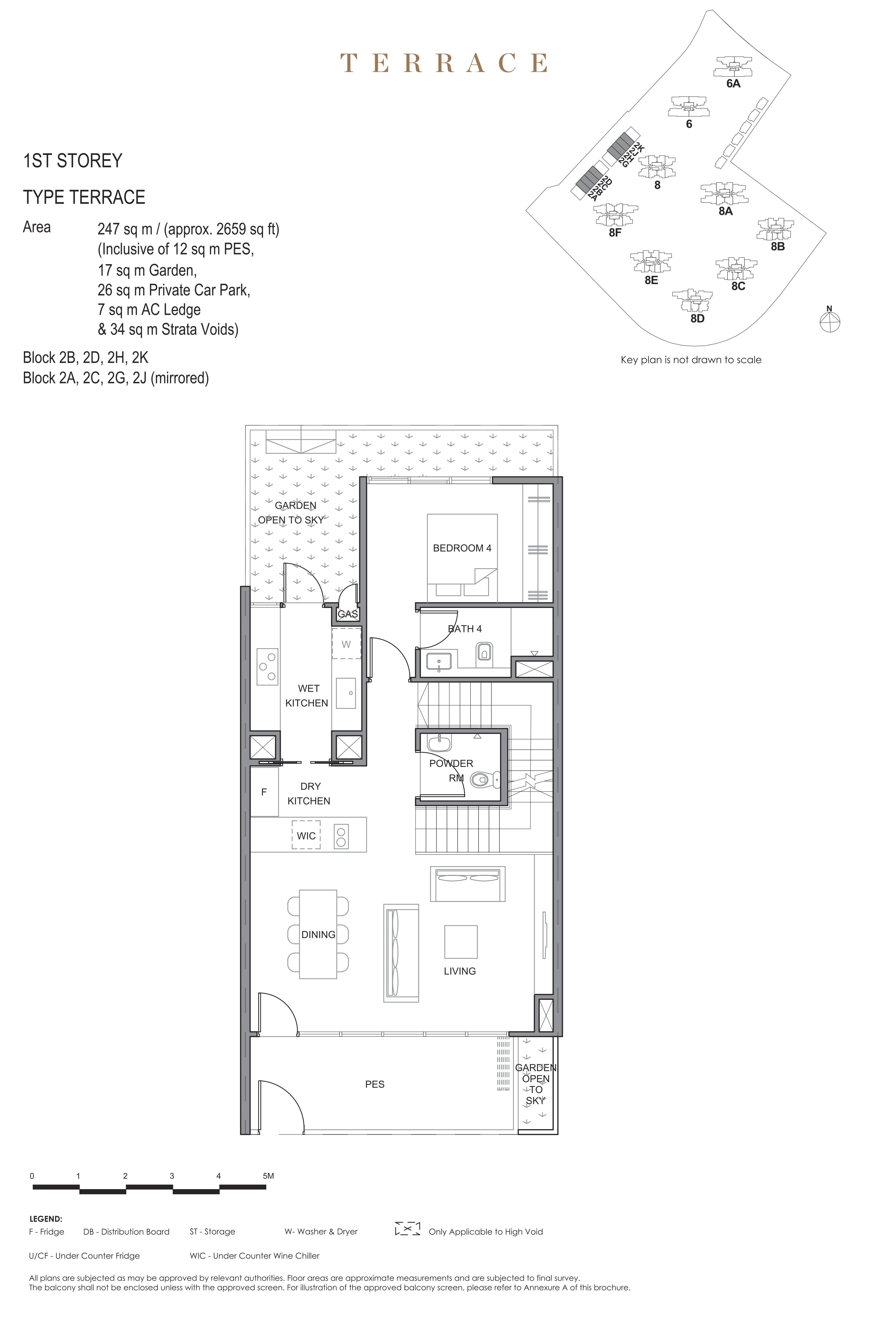 Parc Clematis 锦泰门第 masterpiece Intermediate Terrace 1st storey