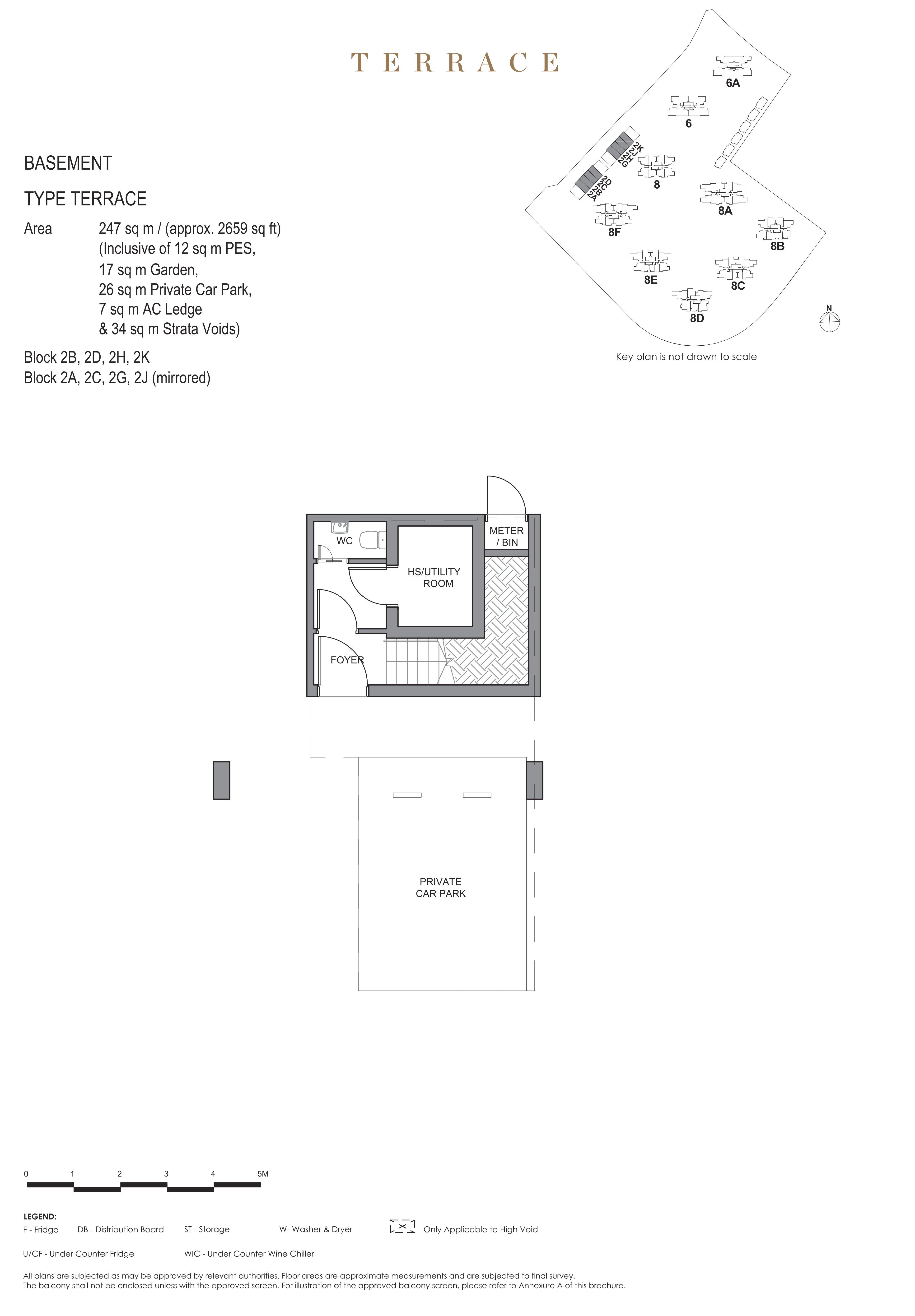 Parc Clematis 锦泰门第 masterpiece Intermediate Terrace basement