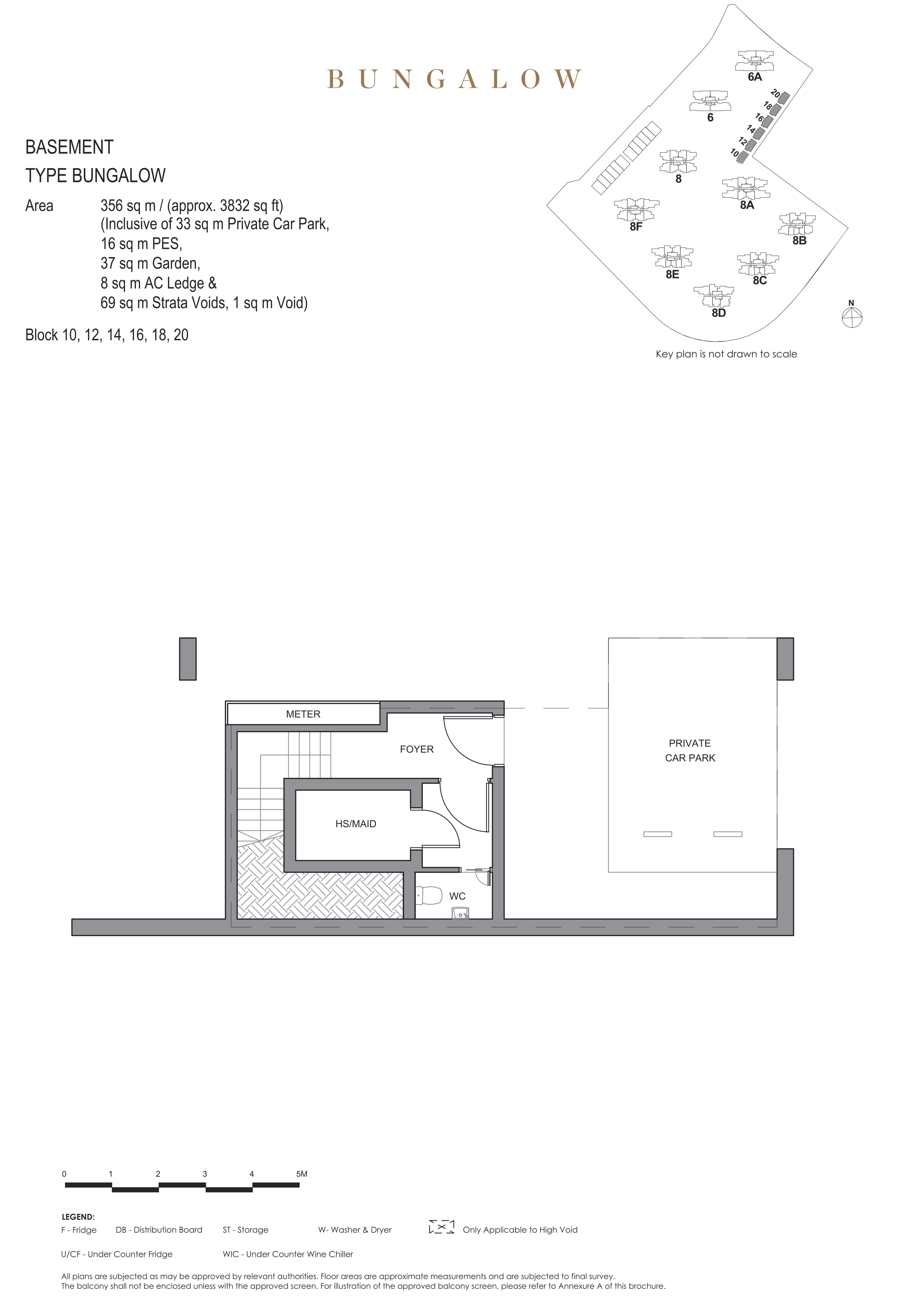 Parc Clematis 锦泰门第 masterpiece bungalow basement