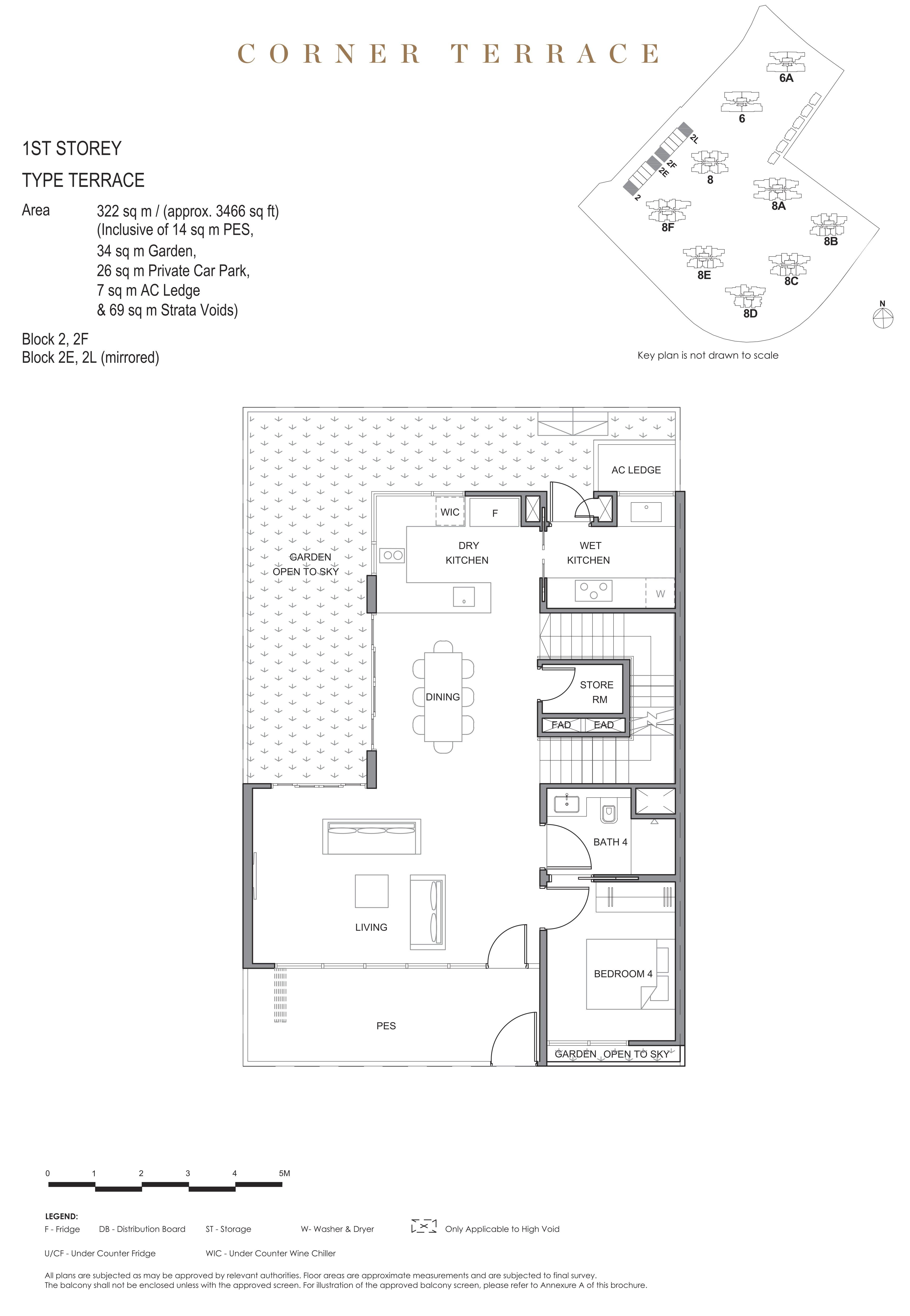 Parc Clematis 锦泰门第 masterpiece corner terrace 1st storey