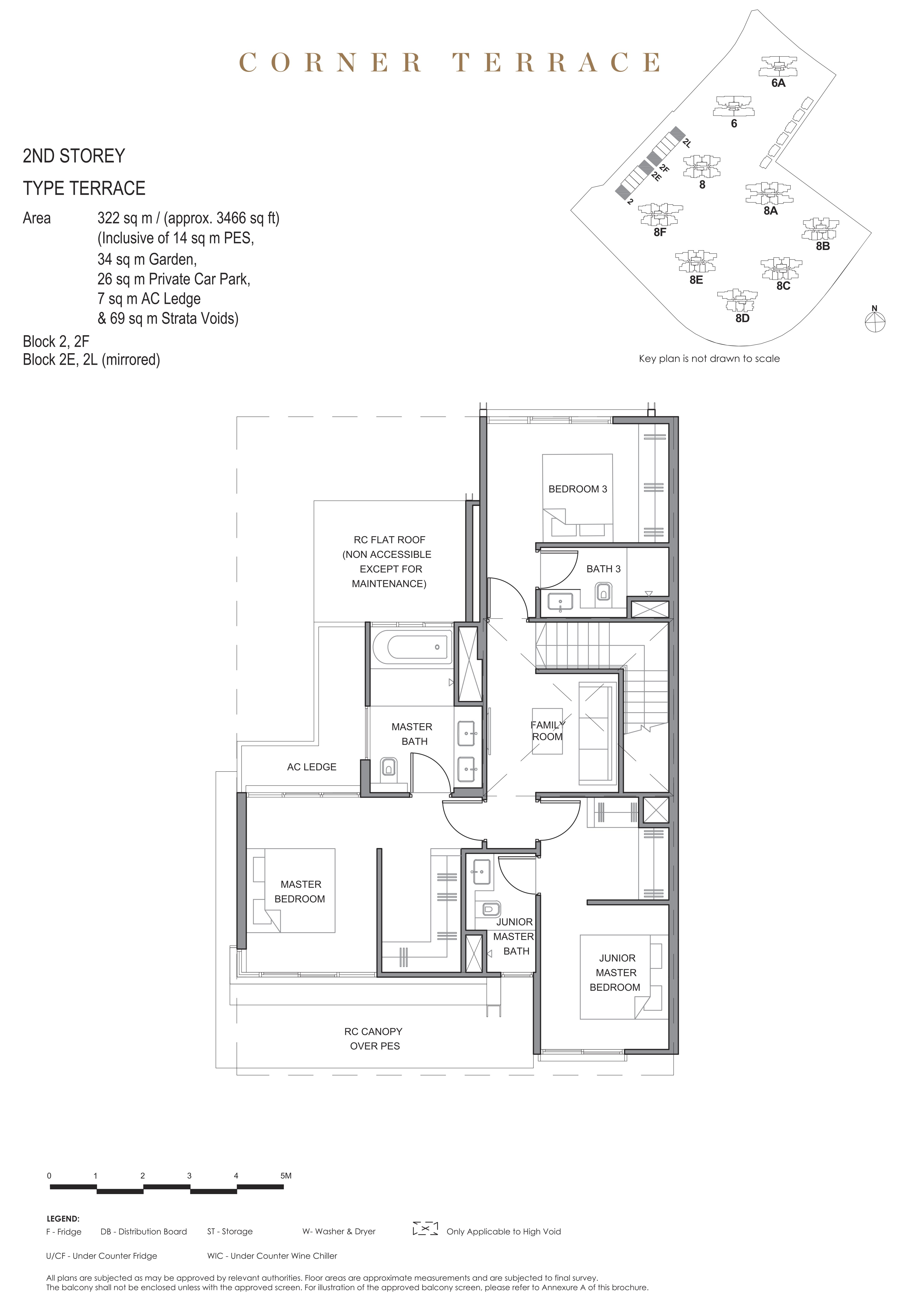 Parc Clematis 锦泰门第 masterpiece corner terrace 2nd storey