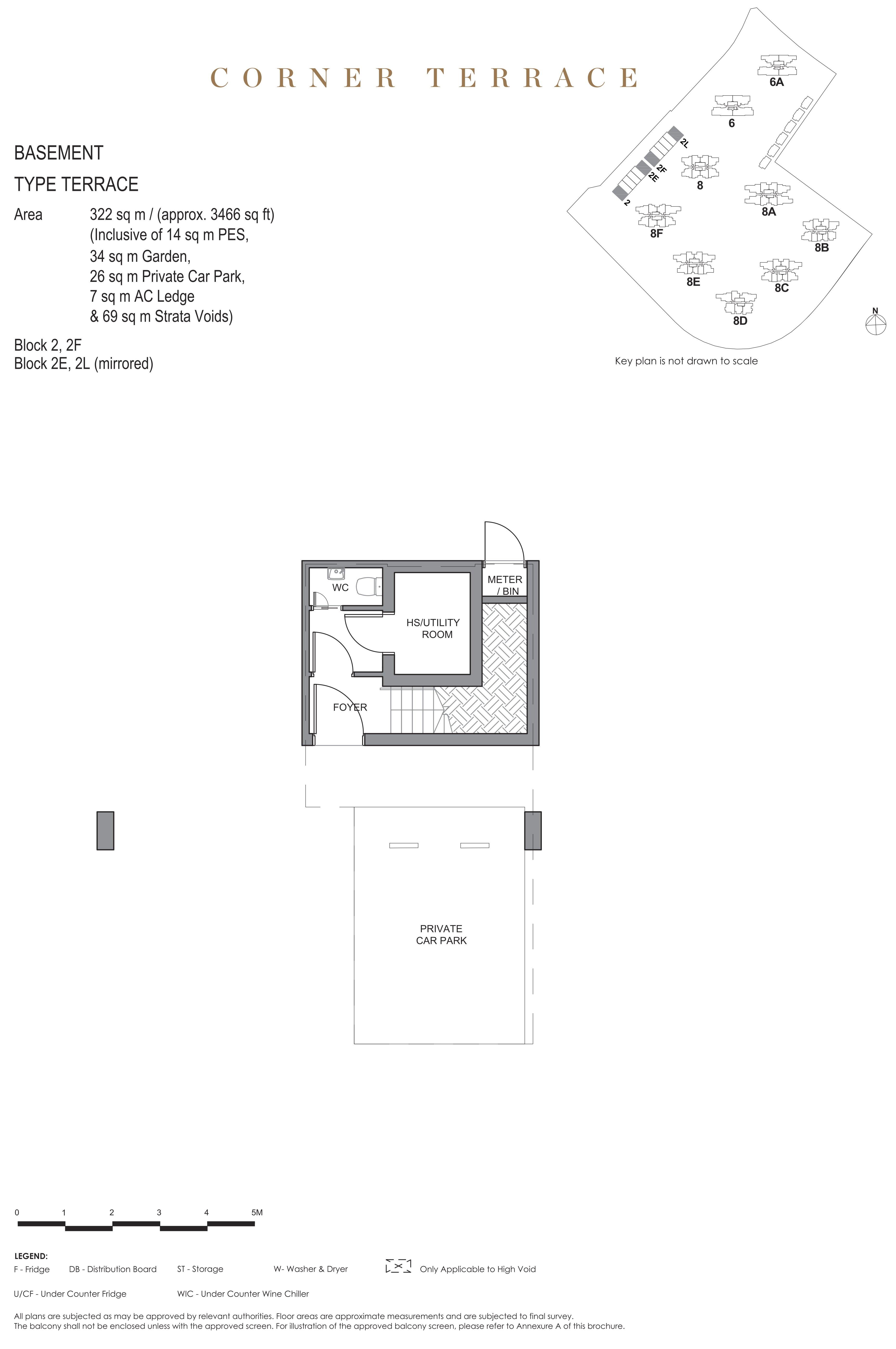 Parc Clematis 锦泰门第 masterpiece corner terrace basement