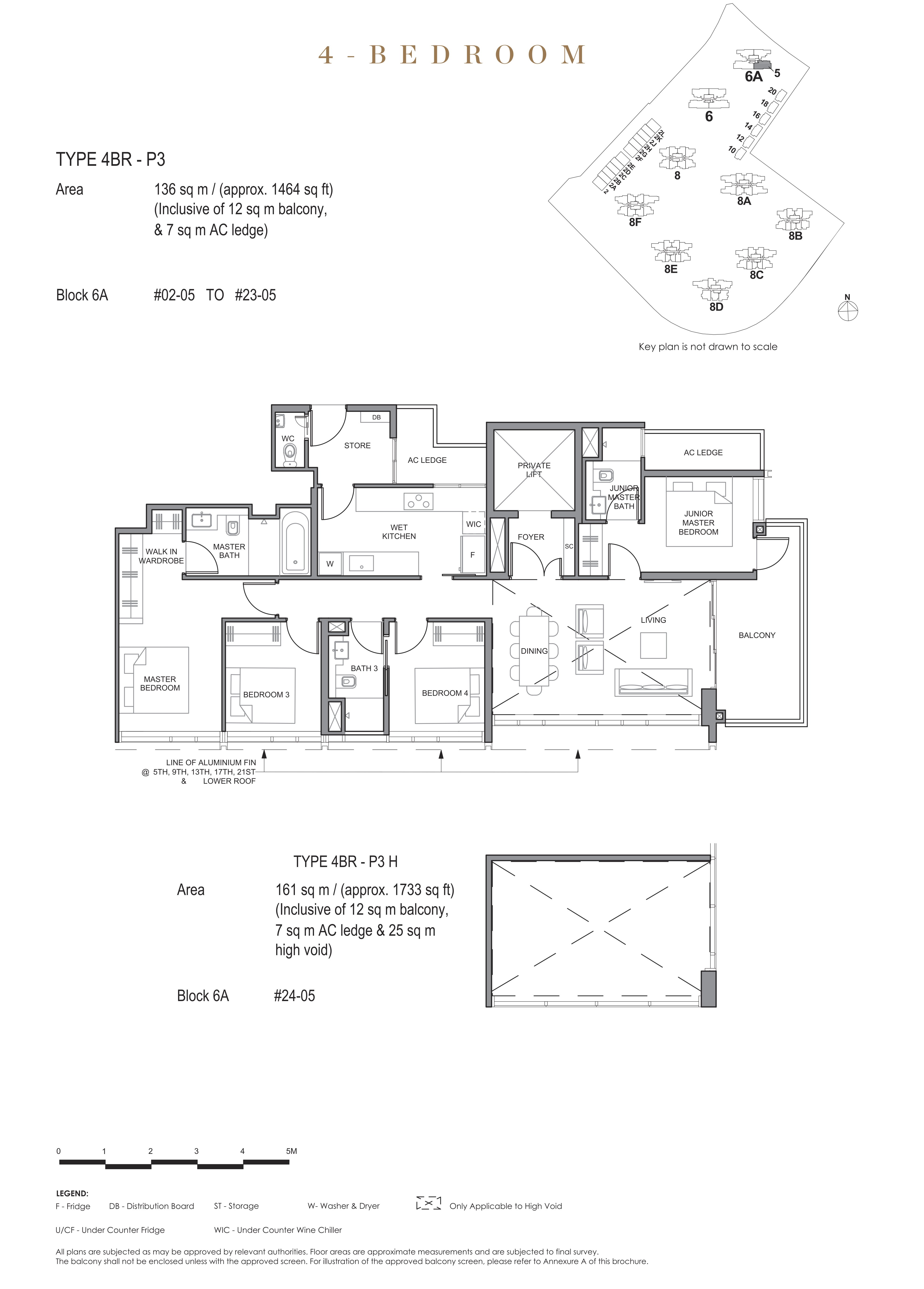 Parc Clematis 锦泰门第 signature 4 bedroom 4卧房 4BR-P3