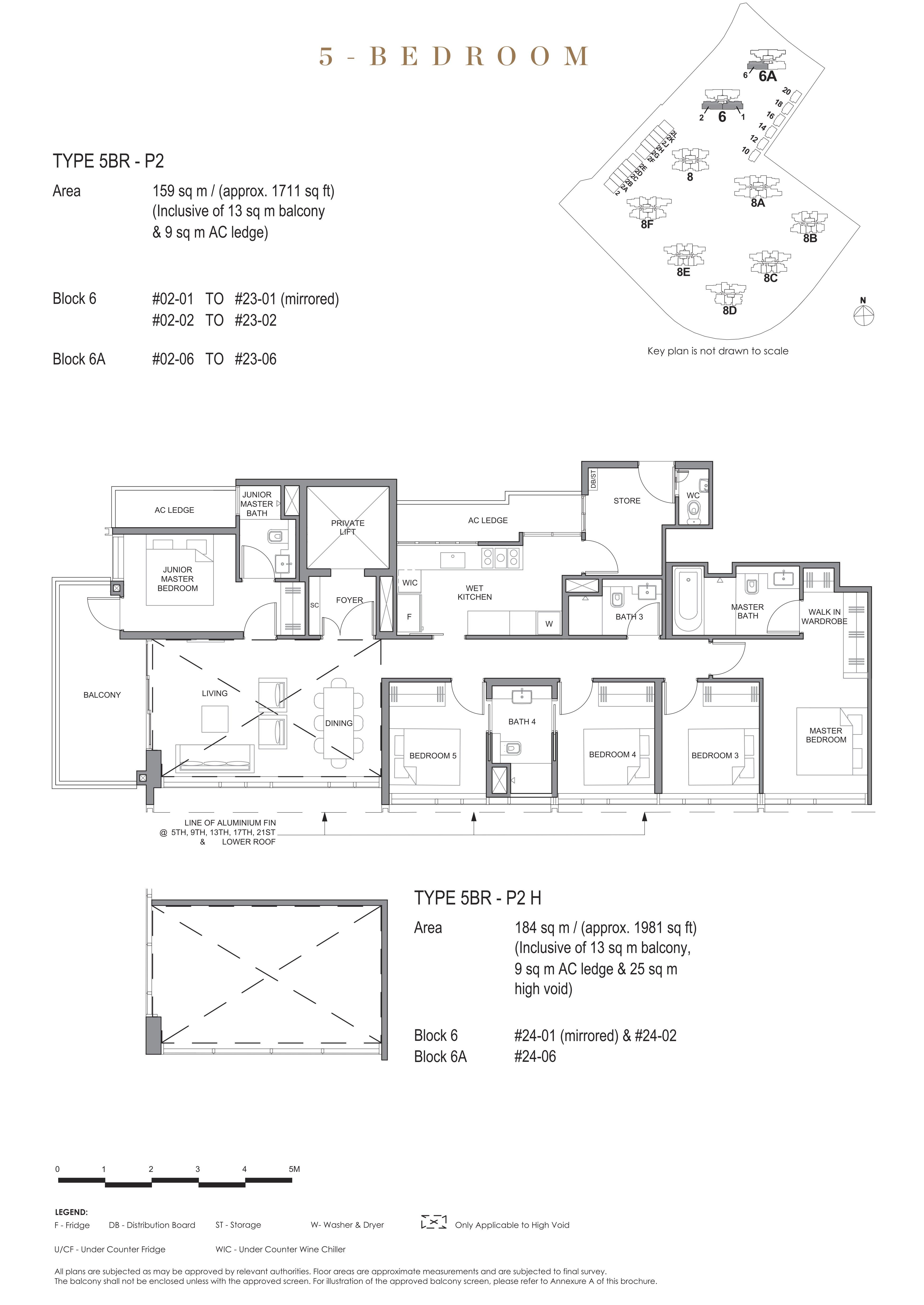 Parc Clematis 锦泰门第 signature 5 bedroom 5卧房 5BR-P2
