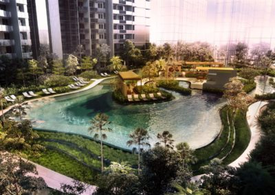 Parc Esta 东景苑 Family_Lagoon_day