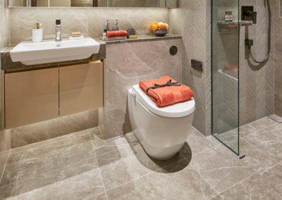 Parc Esta 东景苑 interior common bathroom