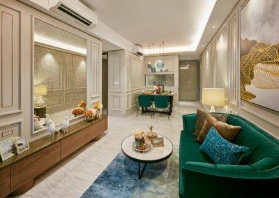 Parc Esta 东景苑 interior high-ceilinged