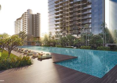 Parc Esta 东景苑 lap pool 50米泳池