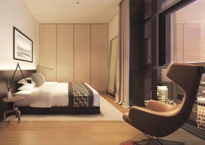乌节三翠林 3 orchard park unit bedroom