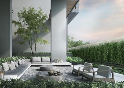 纳森山公寓 19 Nassim Garden Lounge