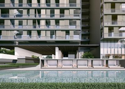 纳森山公寓 19 Nassim Lap Pool