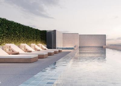 纳森山公寓 19 Nassim Relaxation Pool