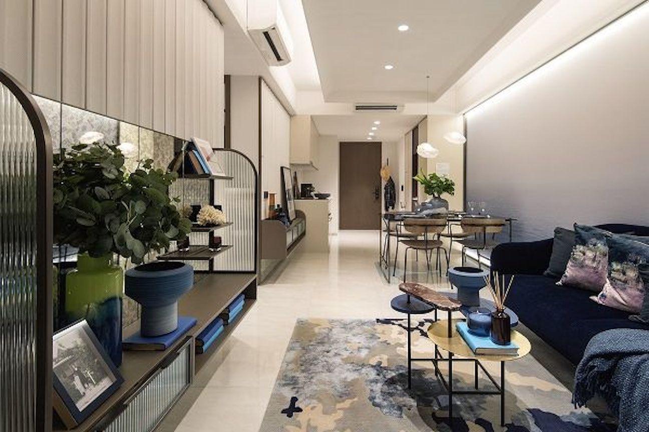 纽顿铜源Kopar At Newton 2-bedroom interior design