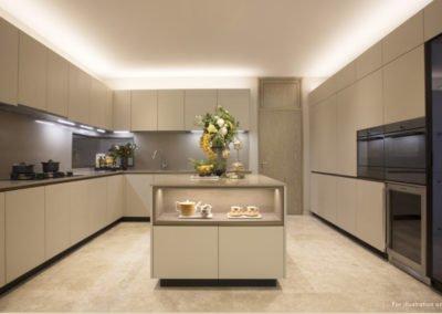 The Avenir 4-bedroom kitchen ID