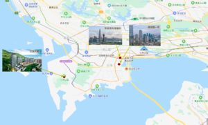 shen zhen 深圳豪宅区南山区-后海和前海