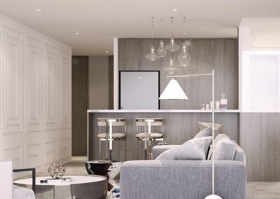 jadescape 顺福轩 condo interior design 3-bedder living